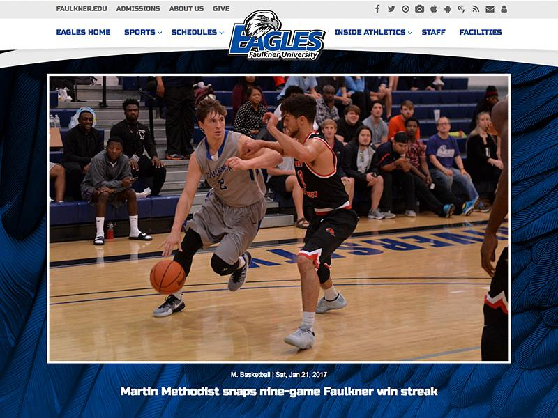 Faulkner University Athletics Image
