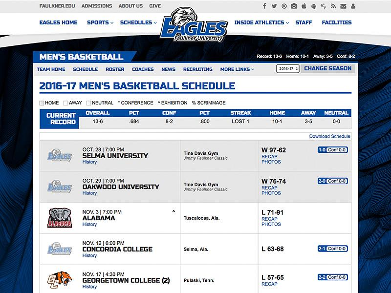 Faulkner University Athletics Image 4