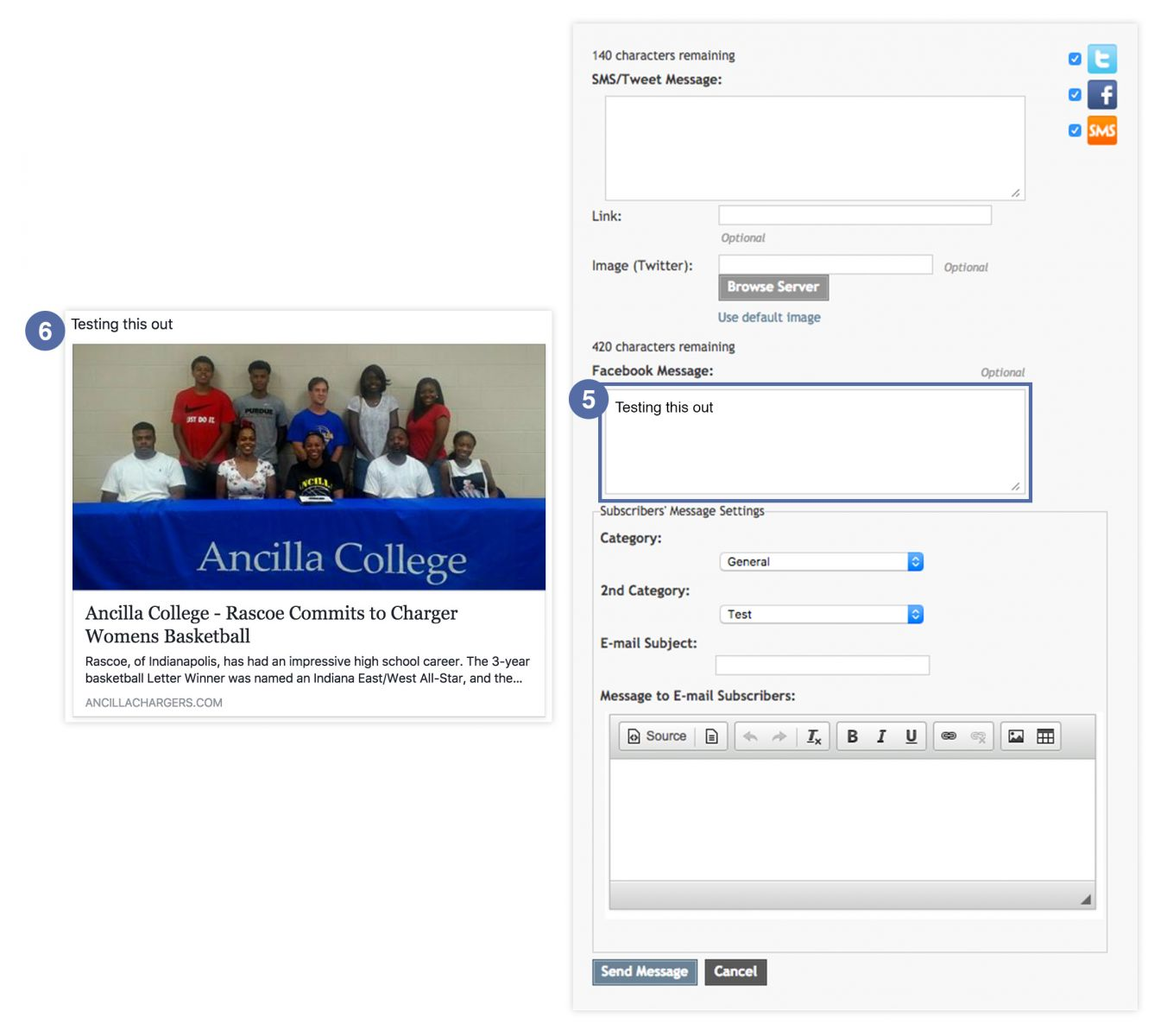 How you can personalize your Facebook post